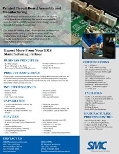 SMC Circuit Boards Sales Flyer
